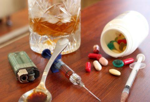 Алкогольная и наркотическая интоксикация как фактор способствующий развитию пневмонии.