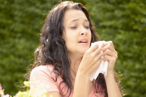 Аллергия может стать причиной кашля