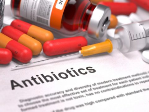 Антибактериальная терапия.