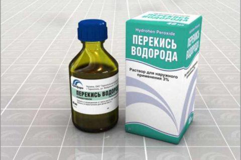 Антисептики помогут уничтожить патогенные бактерии в ране.
