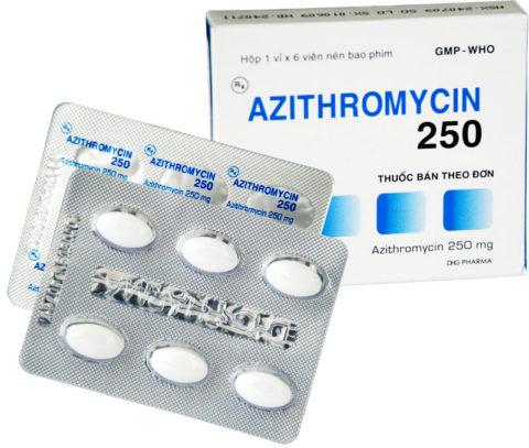 Азитромицин 250 для детей