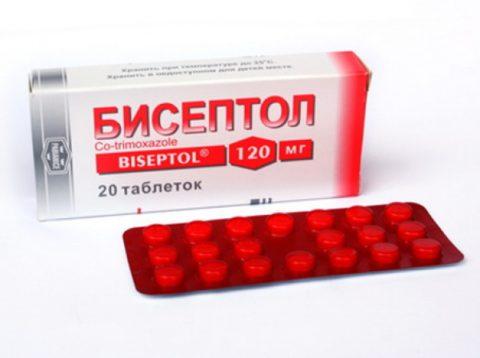 Бисептол при бронхите и пневмонии.