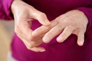Гигрома пальца руки