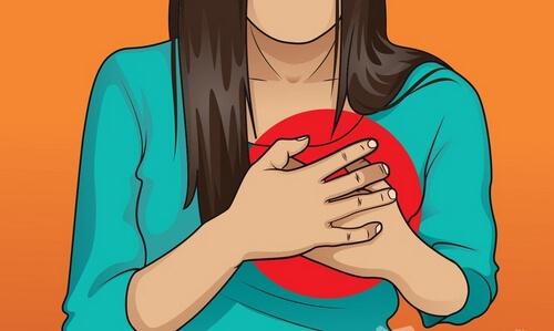 Болезни сердца - причины боли в середине позвоночника