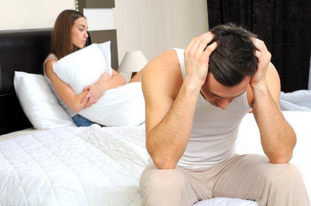 Боли у мужчины во время секса