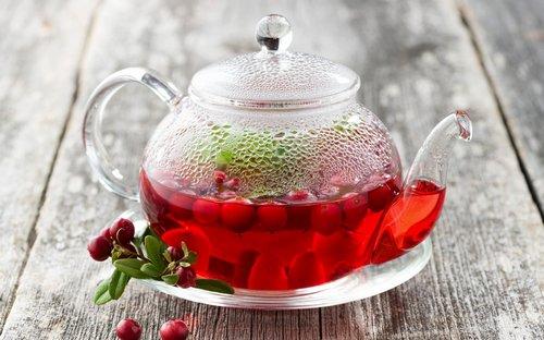 народные средства от боли в спине в области поясницы чай из брусники