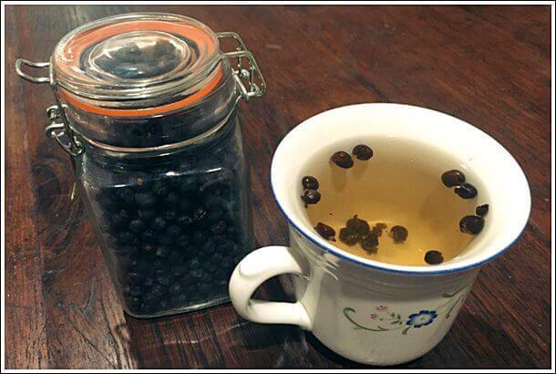 Можжевёловый чай
