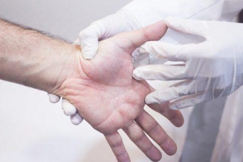 Диагностические исследования перелома пальца верхней конечности