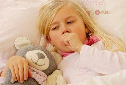 Длительный кашель у ребенка.
