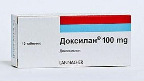 Какие таблетки от сифилиса Доксилан