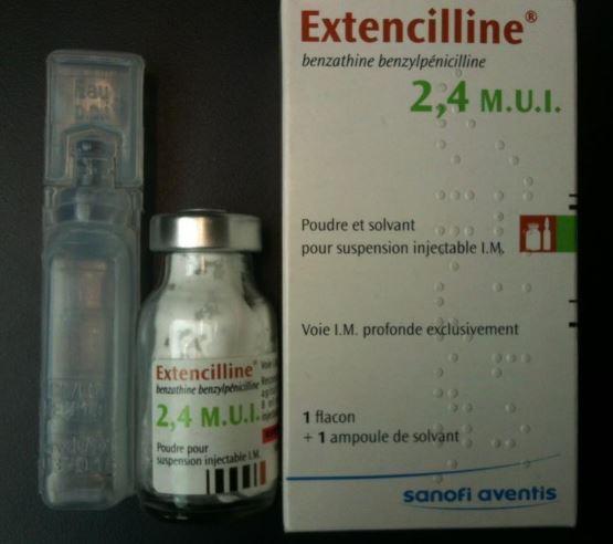 Какие таблетки от сифилиса Экстенциллин
