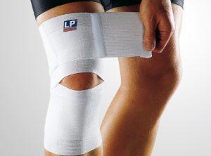 Бандаж на сустав колена для занятий спортом