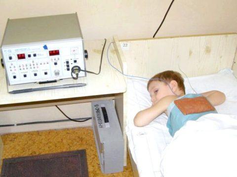 Электрофорез ребенку