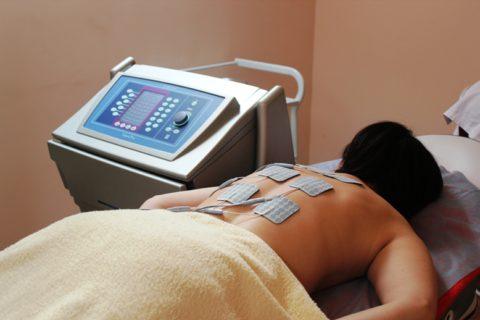 Физиопроцедуры устраняют неприятные симптомы болезни