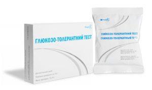Тест на глюкозотолерантность
