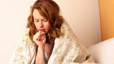 Характерным симптомом является кашель.