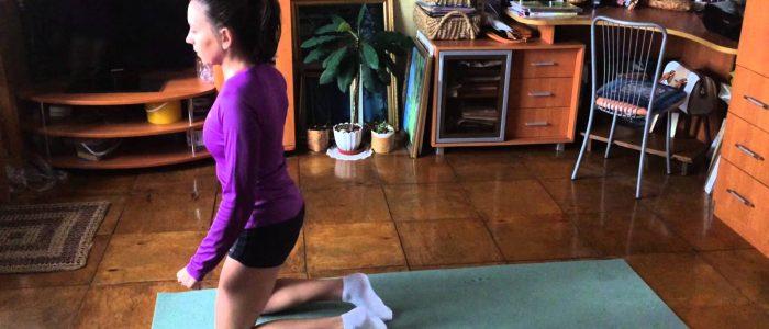 Хождение на коленках при артрозе