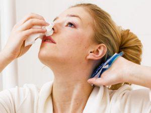 Кровь из носа при диабете