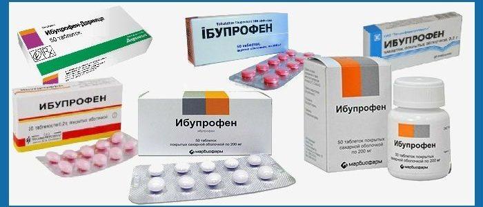 Ибупрофен и суставы