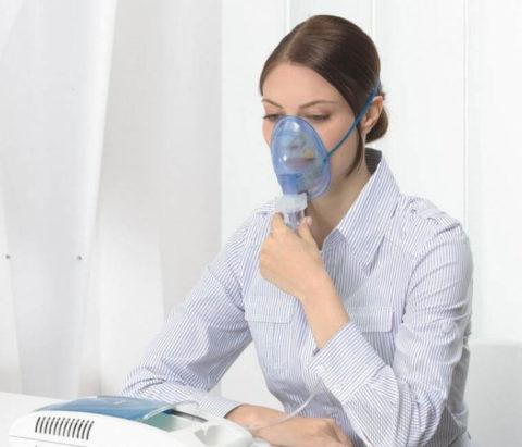 Ингаляции облегчают симптоматику хронического бронхита.