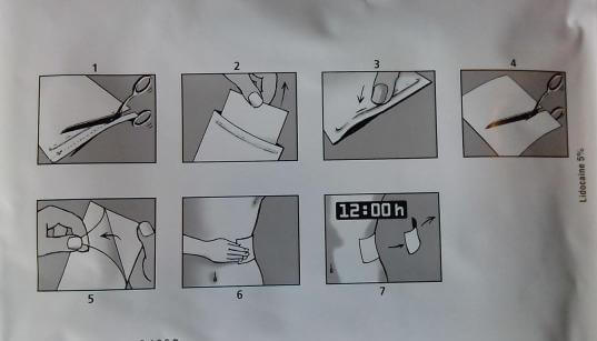 Инструкция по применению пластыря с лидокаином