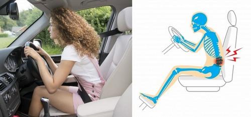 болит копчик и болит спина - вождение автомобиля