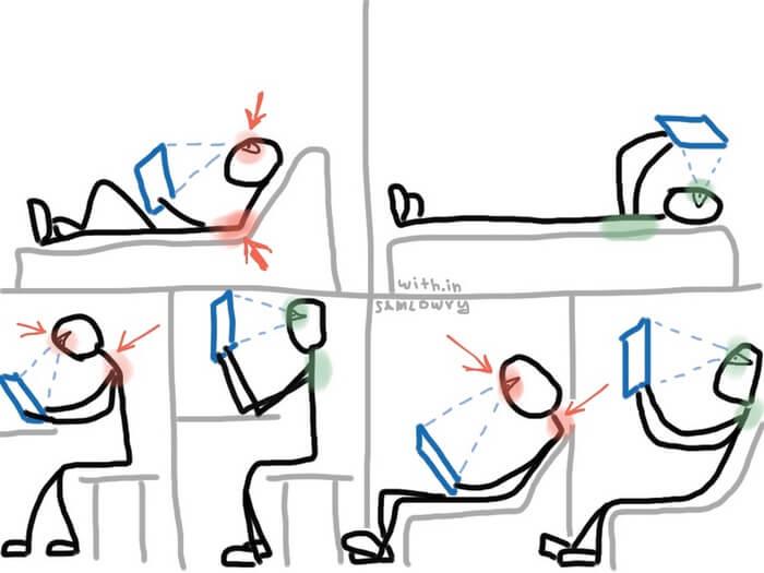 Как сидеть за компьютером, чтобы не болела спина