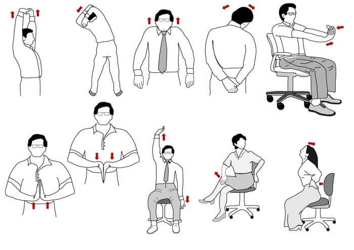 Упражнения для снятия боли в спине и исправления осанки