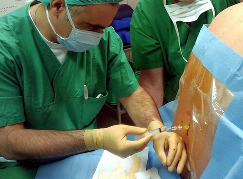 уколы блокад от остеохондроза грудного отдела