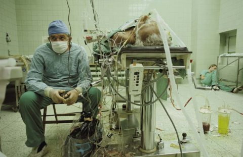 Кардиохирург после операции