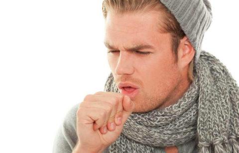 Кашель при высокой температуре может указывать на воспаление легких