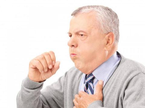 Кашель с кровотечением – возможный симптом бронхиальной астмы у пожилых пациентов
