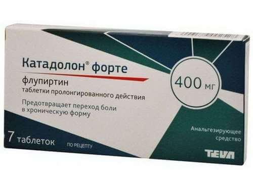 Катадолон Форте таблетки от боли в пояснице