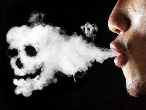 Каждая выкуренная сигарета отрицательно влияет на здоровье