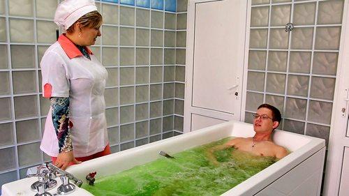 лечебные ванны при остеохондрозе поясницы