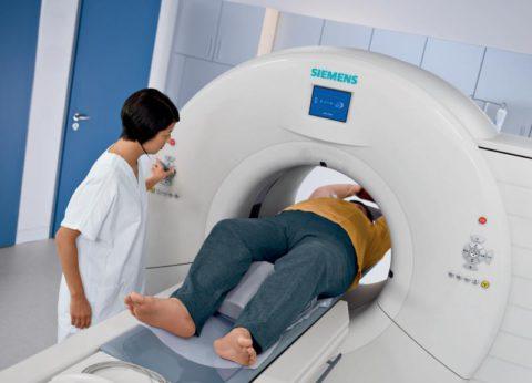 КТ – самый информативный метод диагностики.
