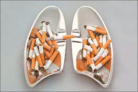 Курение как причина проявления болезней бронх.