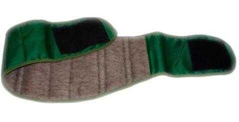 Согревающее изделия с магнитами на шерстяной основе