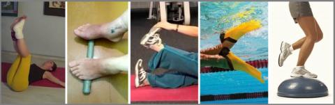 ЛФК – основной метод лечения, помогающий восстановить ногу в положенные сроки