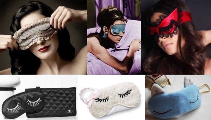Маска для сна: повязка на глаза для полноценного отдыха