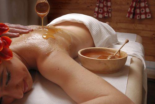 медовый массаж польза здоровья для спины