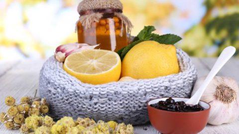 Мед, лимон, варенье и чеснок – природные лекарства