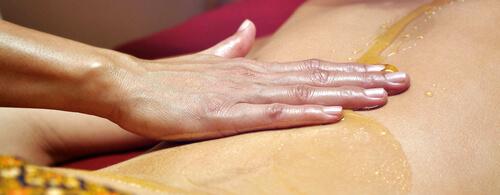 массаж с медом на спине польза