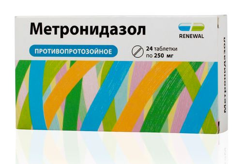Воспаление придатков Метронидазол