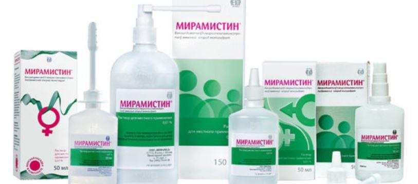 Лечение сифилиса Мирамистин