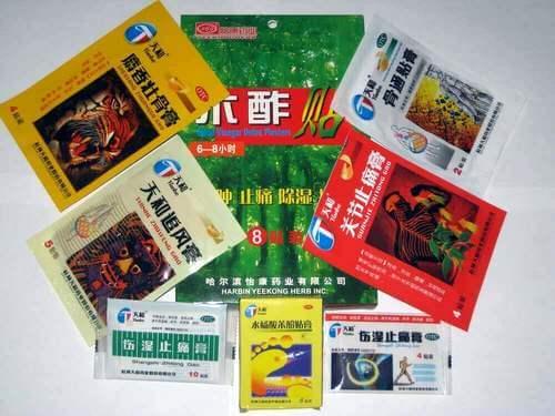 китайские пластыри от радикулита поясничного отдела
