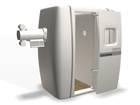 Модель аппарата для пленочной флюорографии