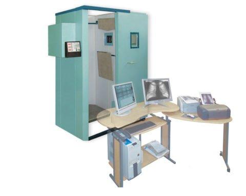 Модель цифрового флюорографа