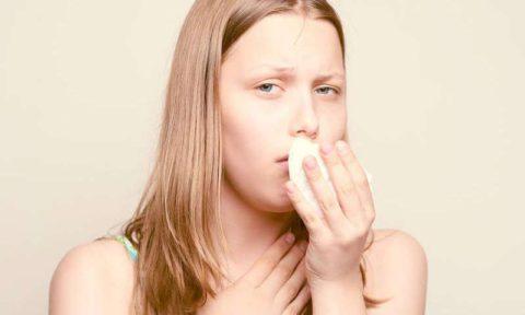 Начавшийся кашель – предвестник простуды