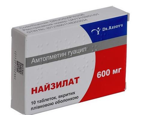 Найзилат - препараты для лечения остеохондроза грудного отдела позвоночника